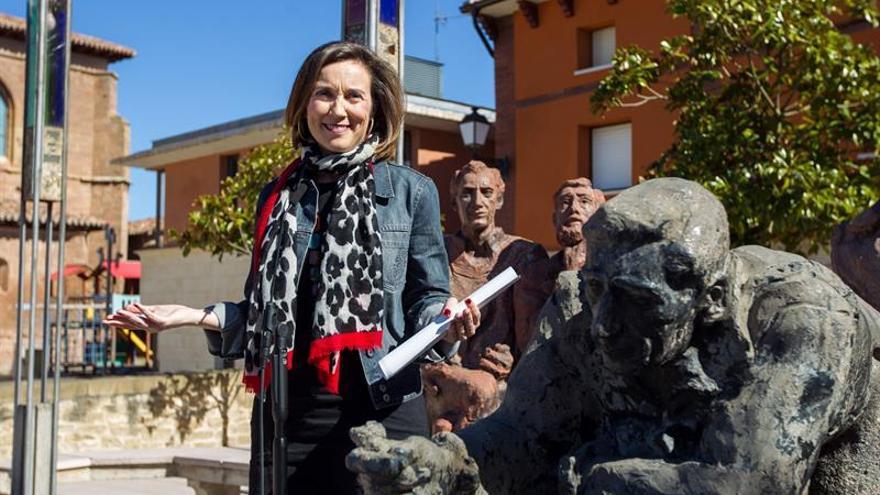 La alcaldesa de Logroño presenta su candidatura a presidir el PP de La Rioja