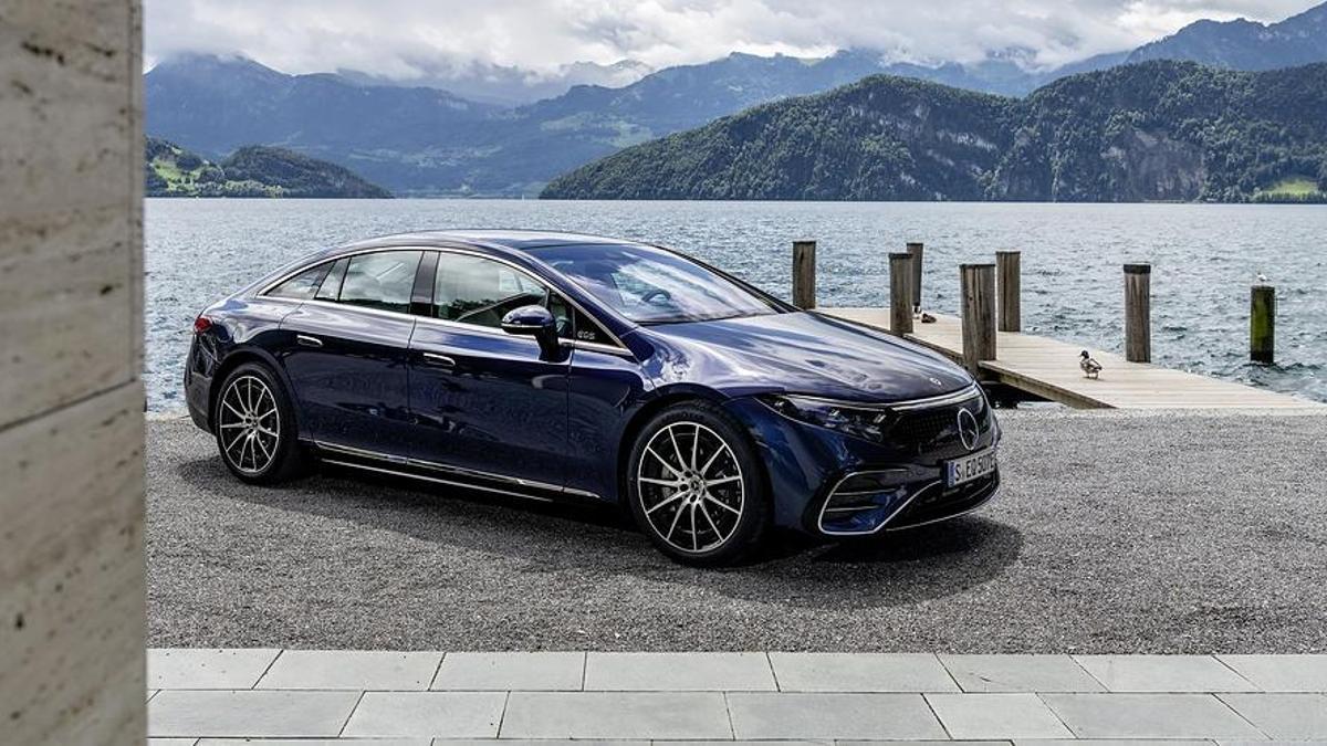El nuevo EQS de Mercedes-Benz.