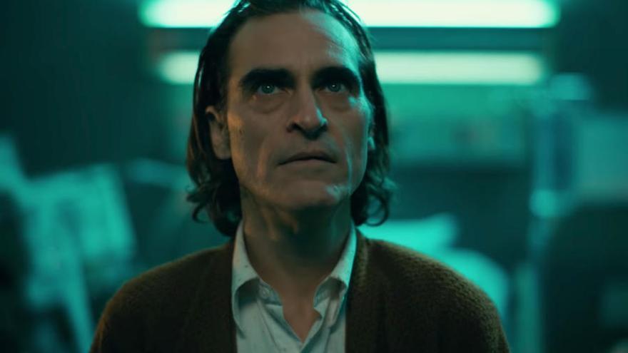 Fotograma de Joaquin Phoenix en 'Joker'