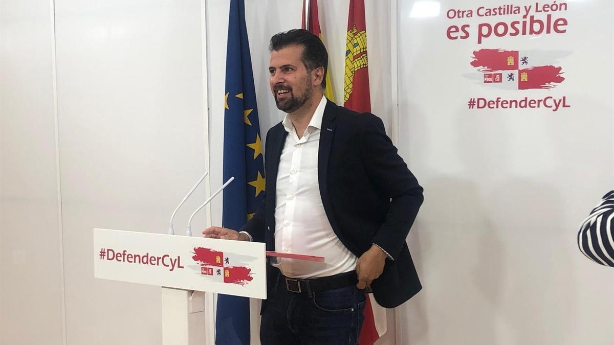 Luis Tudanca, en una imagen de archivo.