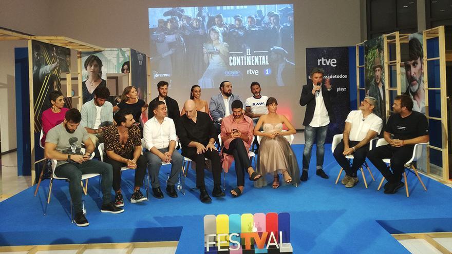 Presentación de El Continental en el FesTVal 2018