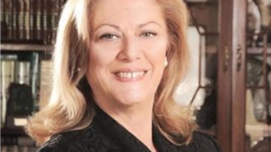 María del Pino Fuentes. Foto: Asociación de la Prensa de Tenerife