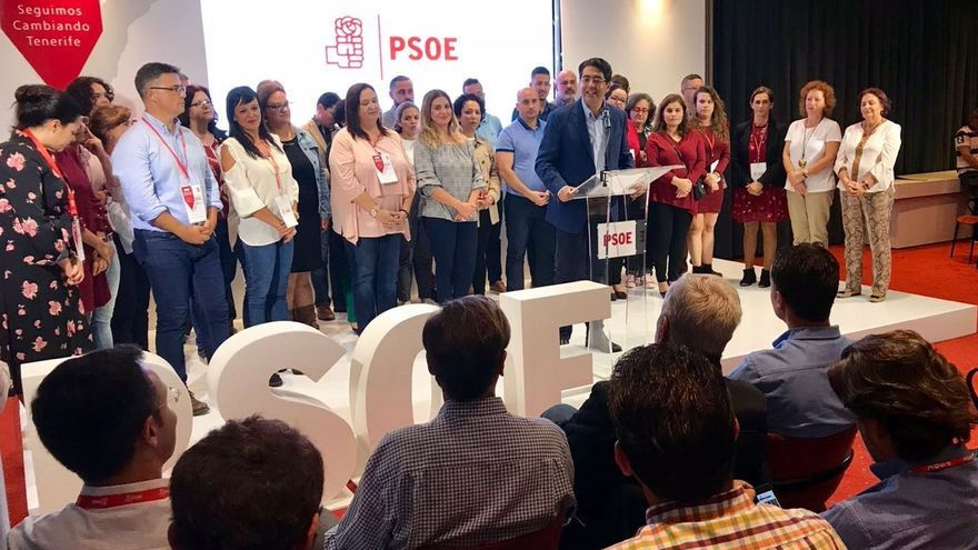 La nueva Ejecutiva Insular del PSOE de Tenerife