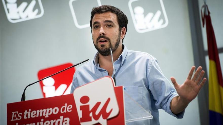 """Garzón cree que la estrategia de Mas ha fracasado """"estrepitosamente"""""""