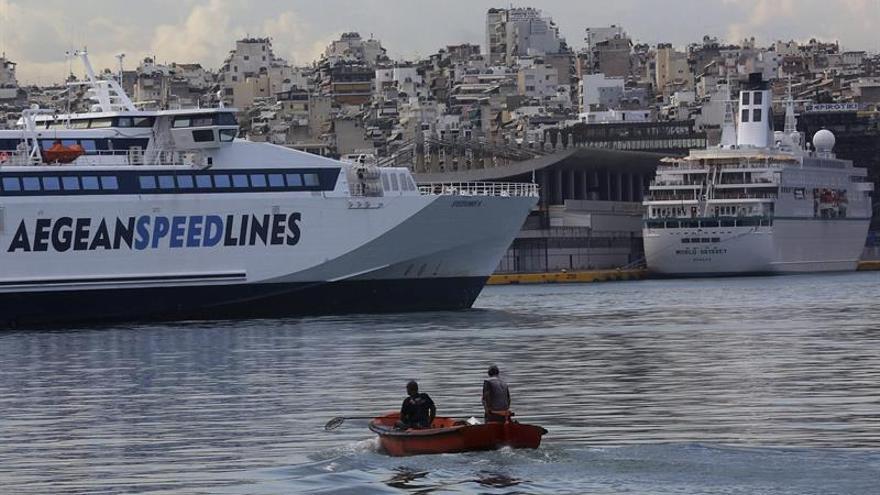 Huelga de 48 horas de los marineros en Grecia contra la reducción de las pensiones