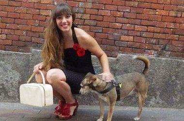 Lorena, protagonista de esta semana de Malasaña Showroom | Foto: Adriana Alcol