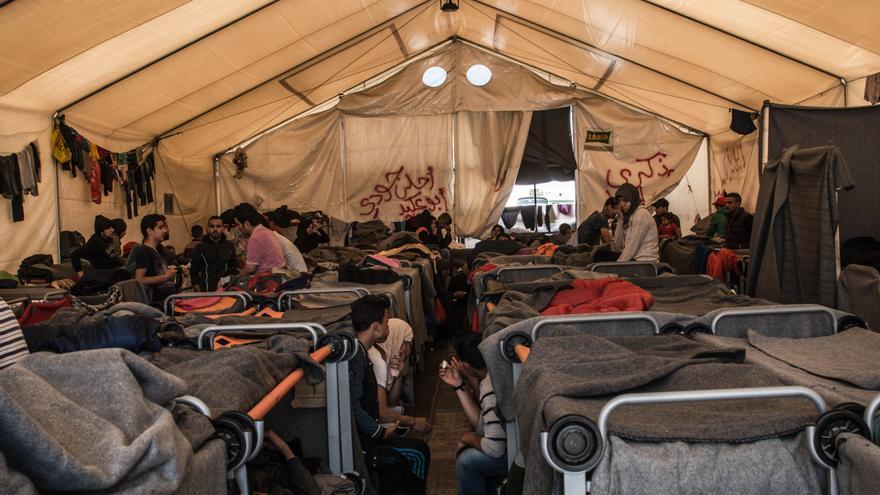 Refugiados en la ciudad griega de Idomeni (ANKOR RAMOS)