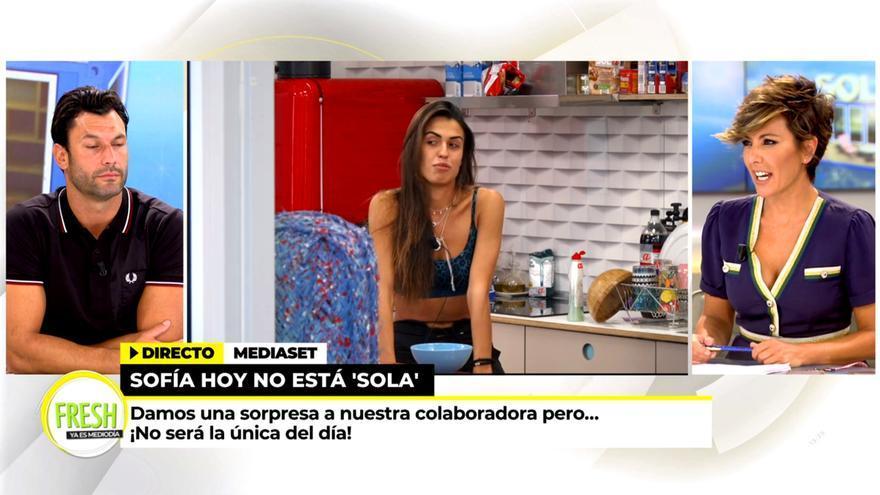 Sofía Suescun en 'Ya es mediodía' desde el reality 'Sola'