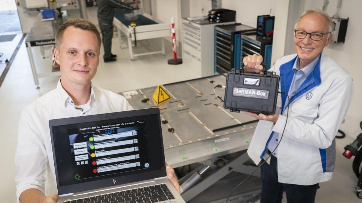 Audi asegura que gracias a su nuevo software de análisis (BattMAN ReLife) las baterías pueden volver a emplearse en otros coches eléctricos.