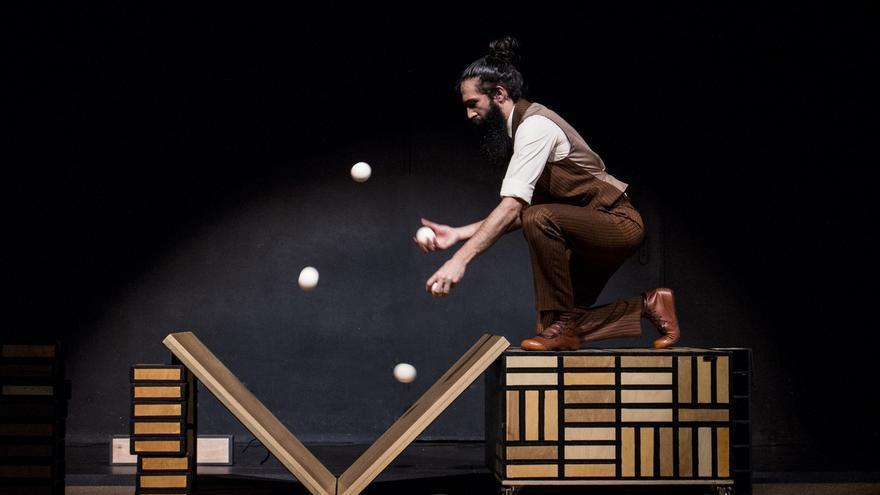 'Só', la pieza de circo de 'Xampatito Pato', llega este sábado al CDAT