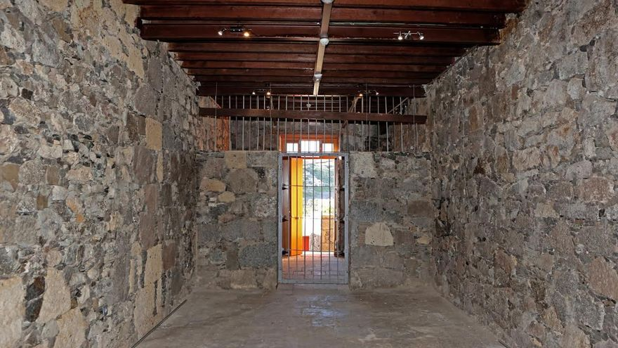 Cuartelillo del antiguo Ayuntamiento de San Lorenzo. (ALEJANDRO RAMOS)