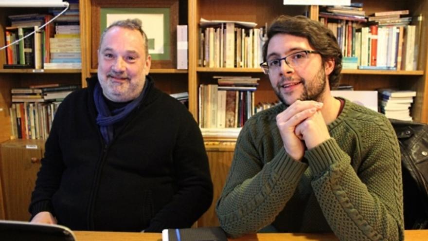 Carlos Babío y Manuel Pérez Lorenzo