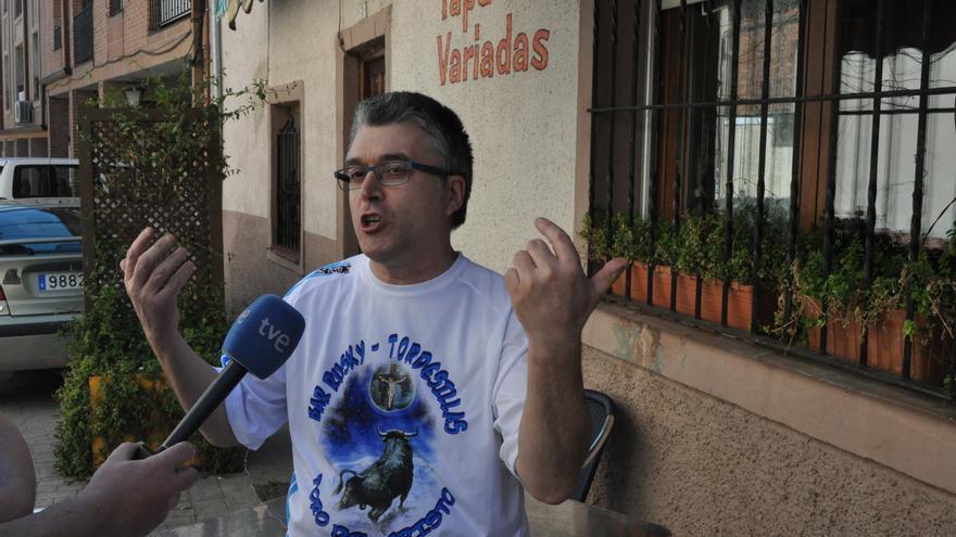 José María Sigüenza, conocido como Rusky, pidió que los tordesillanos se echen a la calle.