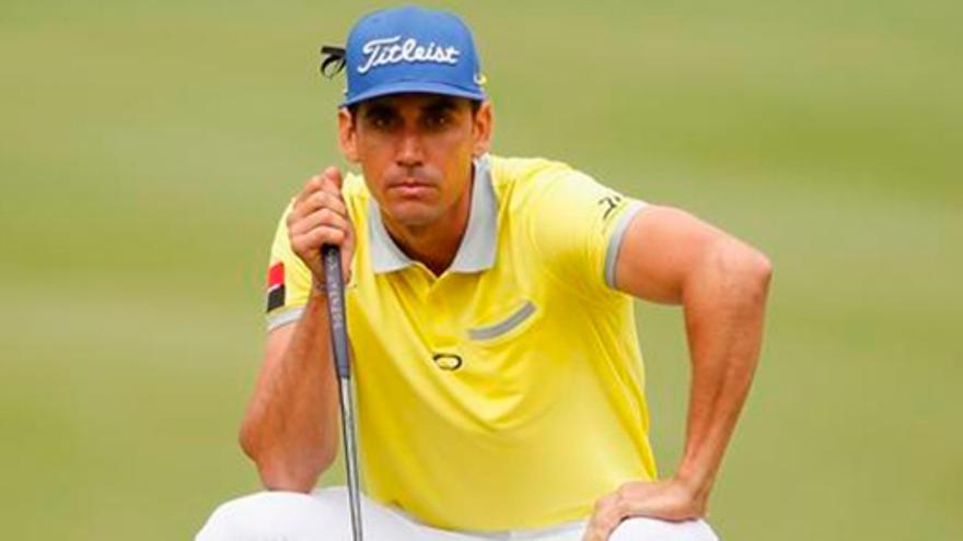 El golfista grancanario concluye en la segunda plaza el Open de España