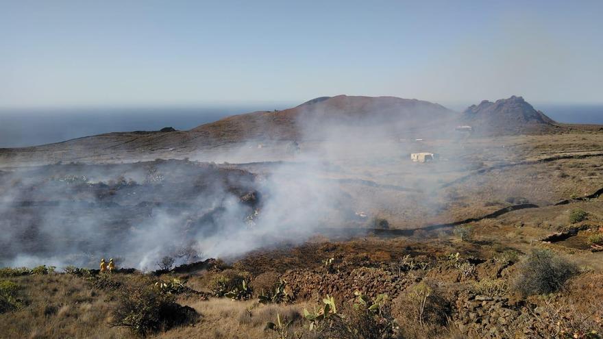 Incendio El Pinar