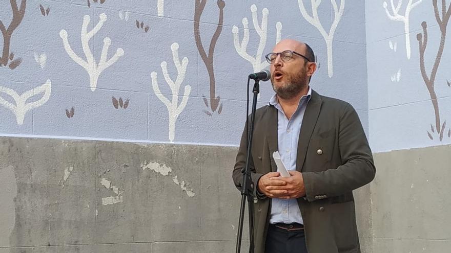 José Fernández, durante un acto en Lavapiés | AYUNTAMIENTO DE MADRID