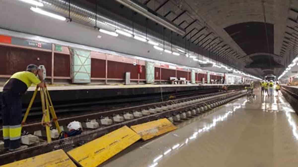 Obras actuales en la estación de Cercanías de Recoletos | ADIF