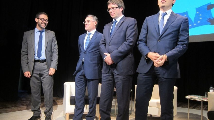 """Puigdemont cree que el Estado """"desconecta"""" de Europa y pide a la UE escuchar a Cataluña"""