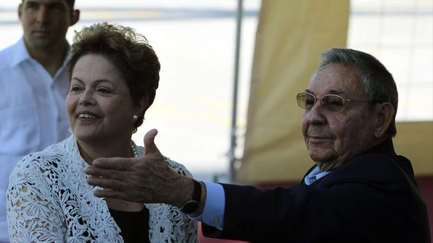 Dilma Rousseff se reúne con Fidel Castro en La Habana