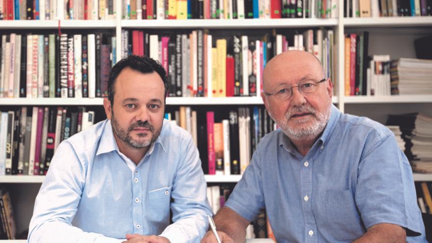 Alberto Cienfuegos y Nacho Lavernia.