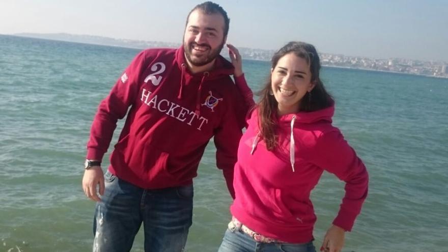 Abdulmonem Kitouh y Rana Damien no se ven desde hace más de un año. Handout