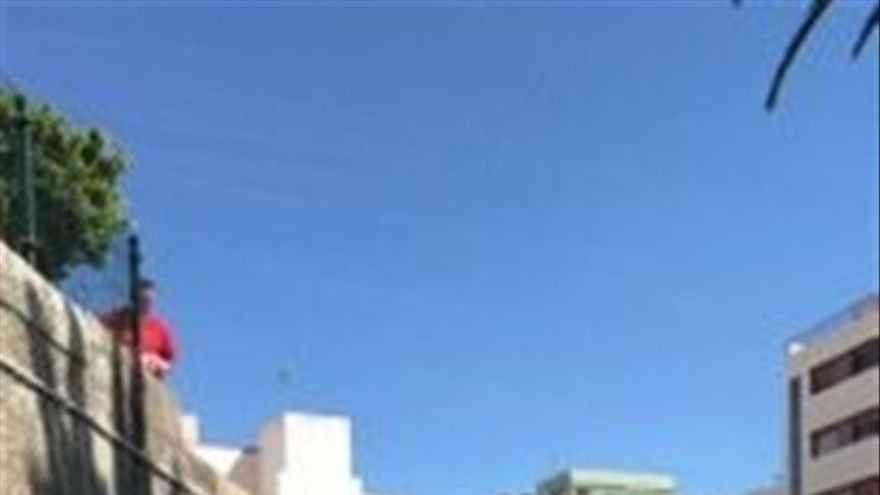 Imagen cedida por la Policía Local de Santa Cruz de Tenerife.