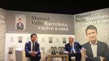 """Manuel Valls presenta el libro sobre su candidatura junto a Vargas Llosa: """"Barcelona necesita a las élites"""""""
