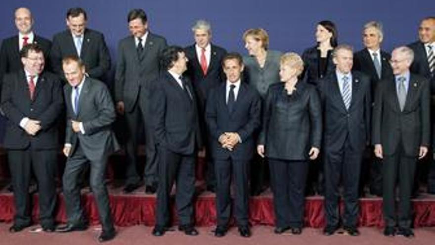 Reunión de los líderes europeos en Bruselas