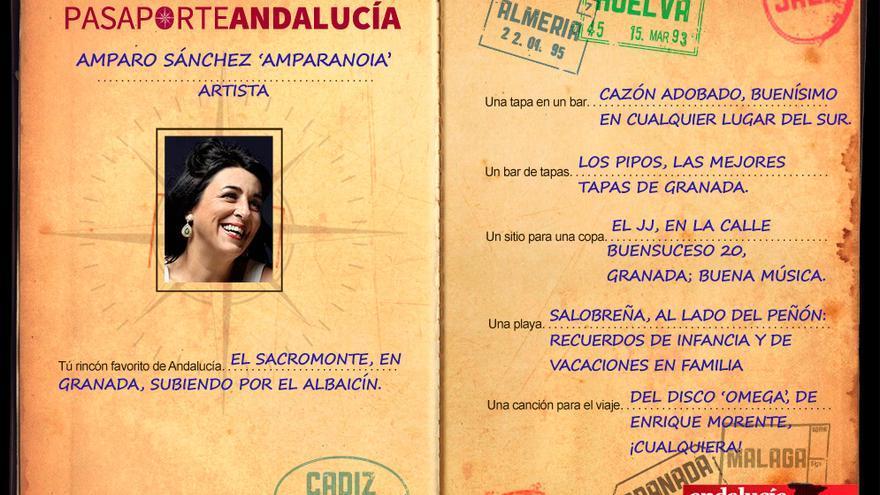 Pasaportest: Con Amparo Rodríguez 'Amparanoia'