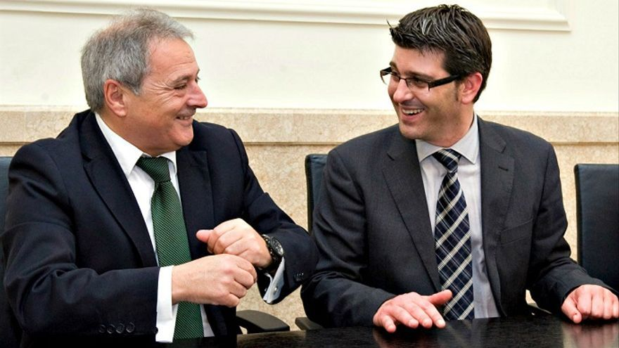 Alfonso Rus y Jorge Rodríguez
