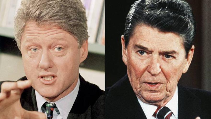 La discusión económica de la campaña se remonta a los argumentos de Ronald Reagan y Bill Clinton.