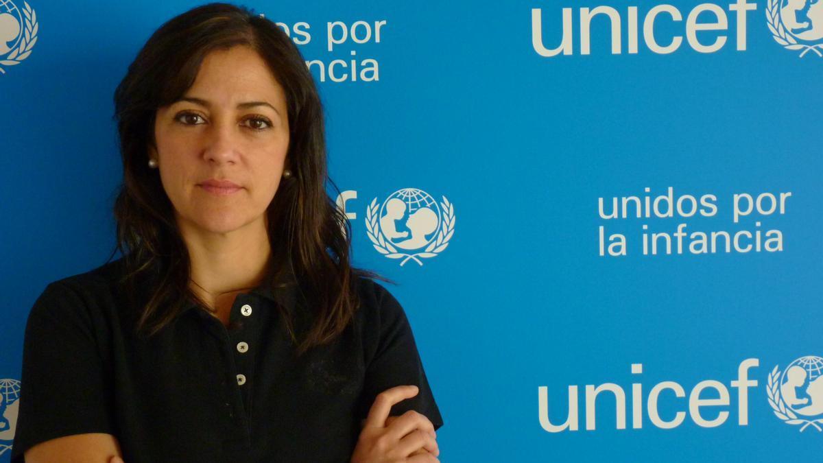 Carmen Molina, directora de Sensibilización y Políticas de Infancia de UNICEF España.