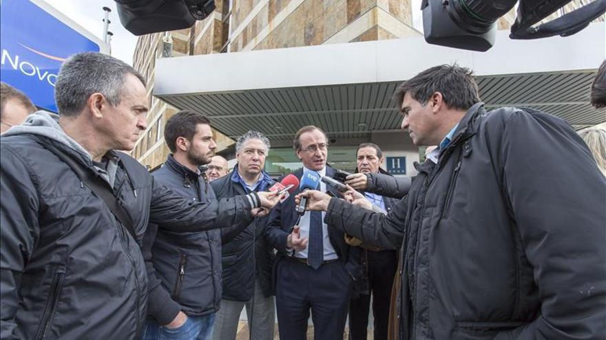 Alonso advierte del intento de dividir el voto de centro derecha y llama a concentrarlo