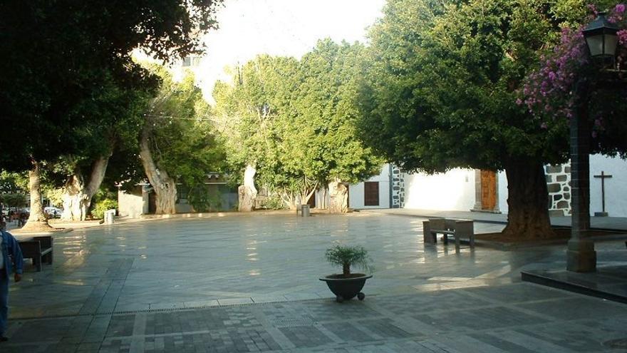 Plaza de España de Los Llanos de Aridane.
