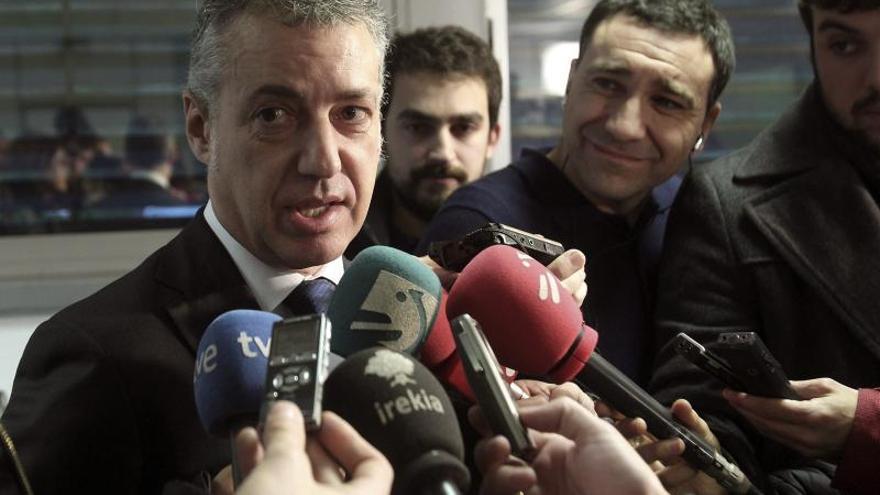 """Urkullu quiere """"sentarse"""" con Rajoy y """"construir entre todos"""" la convivencia"""
