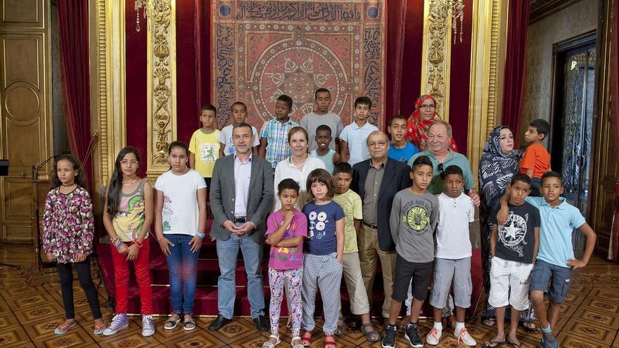 El Gobierno de Navarra financia por primera vez la acogida de niños y niñas saharauis en verano