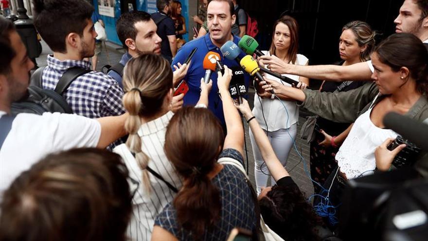 El secretario de organización de la sección sindical de USO en Ryanair, Jairo Gonzalo.