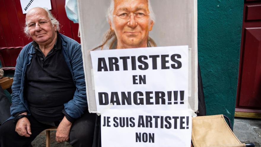Los pintores de Montmartre le plantan cara al Ayuntamiento de París