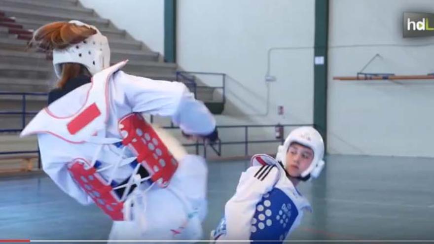 Los hermanos Jiménez, Marías y Nicolás, parte del futuro del taekwondo andaluz