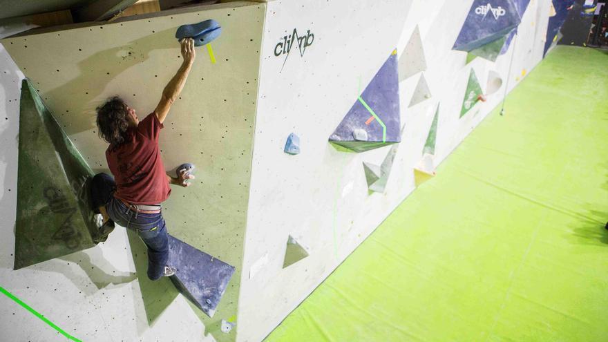 Jorge Tost, ganador de la IV edición del The Climb Open Boulder Festival (© The Climb / Javipec).