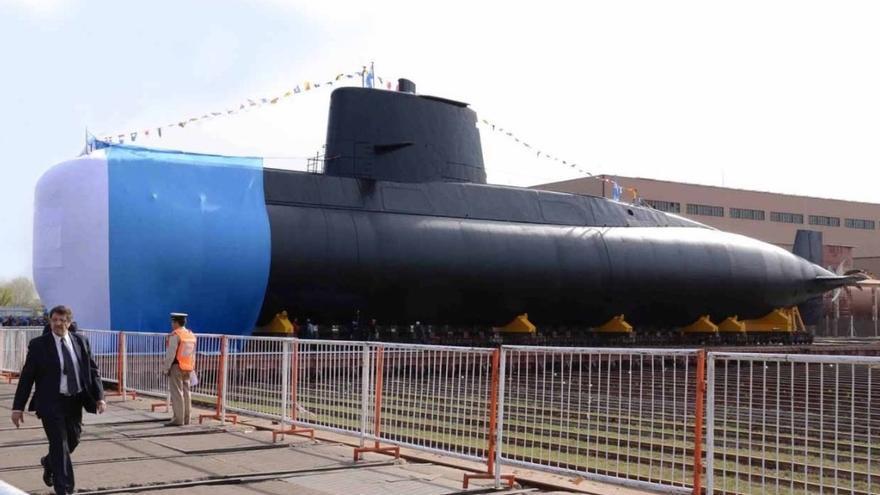 El submarino San Juan de la Armada argentina