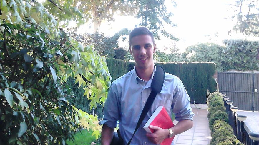 Carlos, maestro especialista en Audición y Lenguaje. Foto cedida