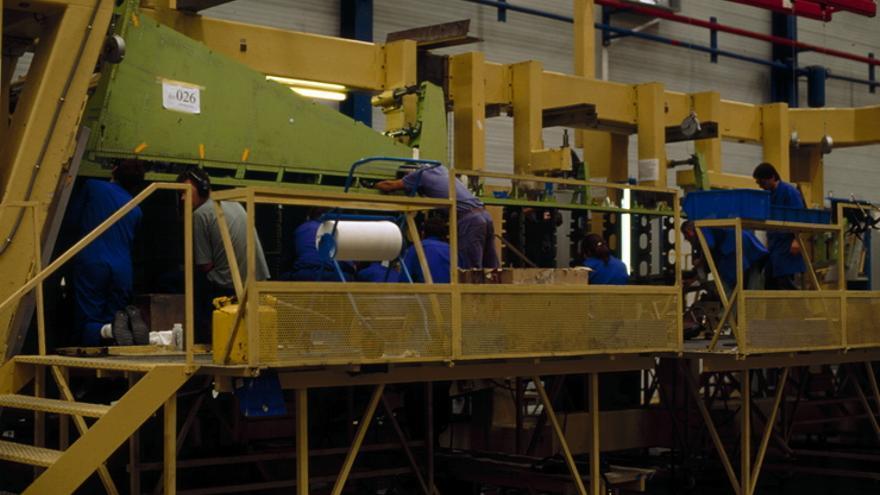 Instalaciones de una empresa industrial en Álava.