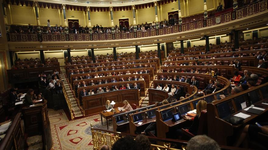 El Congreso de los Diputados, durante la celebración de un pleno