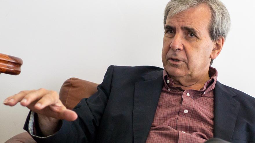 El consejero de Presidencia y Justicia de Cantabria, Rafael de la Sierra. | ROMÁN GARCÍA