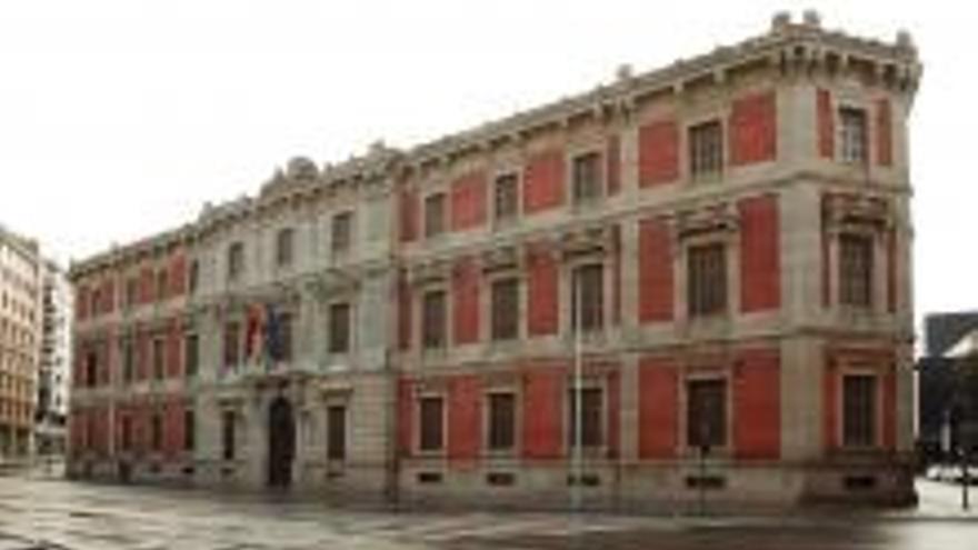 Edificio del Parlamento de Navarra.