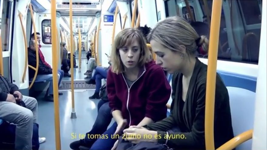 Fotograma del vídeo de denuncia de Yolanda Domínguez / Foto: youtube.
