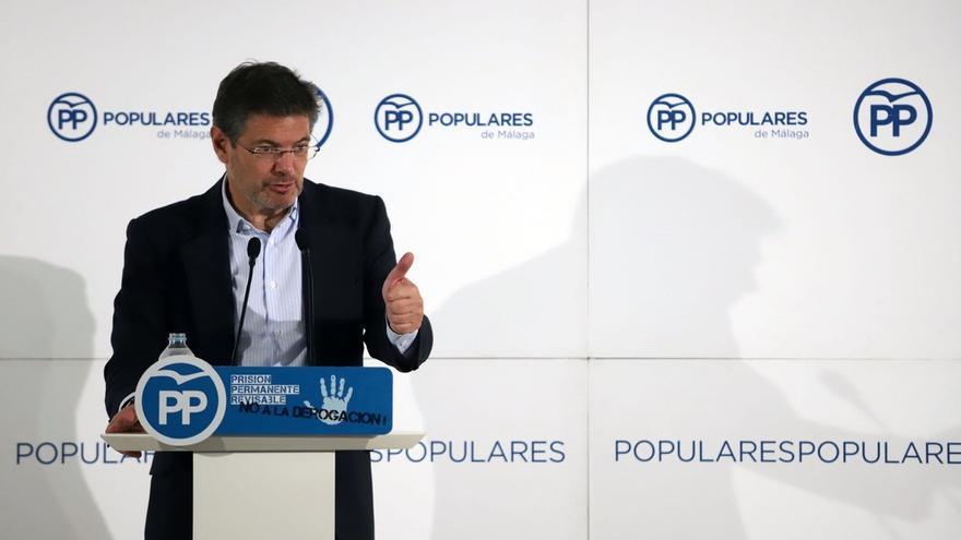 """Catalá dice que Rajoy """"no ha dicho nada"""" sobre la comida de exministros con Casado, que """"no es contra nadie"""""""