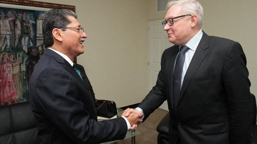 El Salvador y Rusia analizan su agenda bilateral en l aquinta Reunión de Consultas