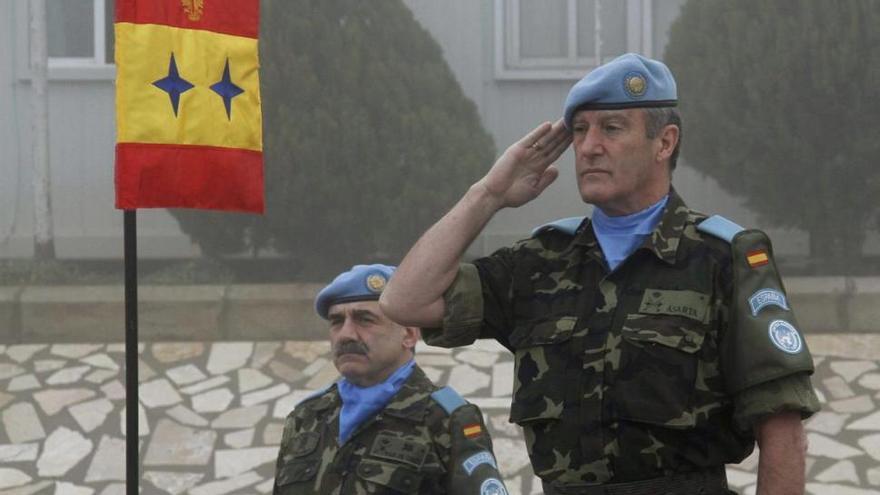 El general retirado Alberto Asarta firmó el manifiesto en favor de la figura de Franco.